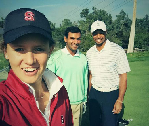 Stanford Golfer Viraat Badhwar Shoots 59 After Meeting Tiger, image: golfdigest.com