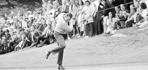 Billy Casper at the 1966 U.S. Open, image: golfweek.com
