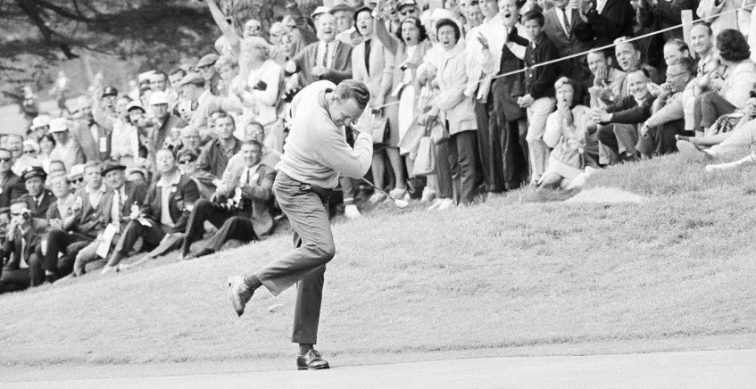 Billy Casper at the 1966 U.S. Open, image: golfweek.com