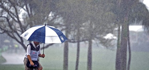 PGA Tour Caddies In the Rain, image: golfweek.com