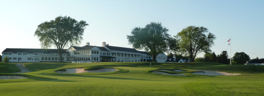 Oakland Hills Country Club, image: golftripper.com
