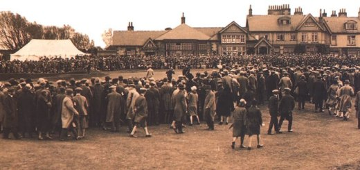British Open at Muirfield in 1891, image: golfnow.com