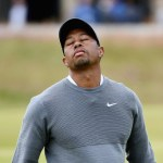 Tiger Woods Struggles at the 2015 Open Championship