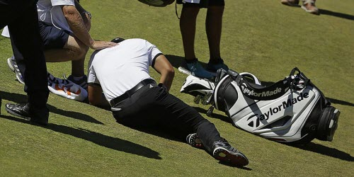 Jason Day Experiences Vertigo at the 2015 U.S. Open, image: golfweek.com