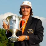 Rickie Fowler wins the 2012 Wells Fargo Championship