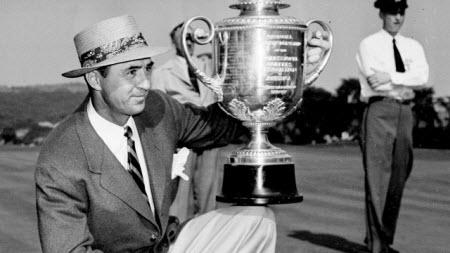Sam Snead wins the 1942 PGA Championship, image: sportsnet.ca