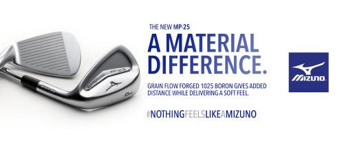 All New Mizuno MP-25 Irons