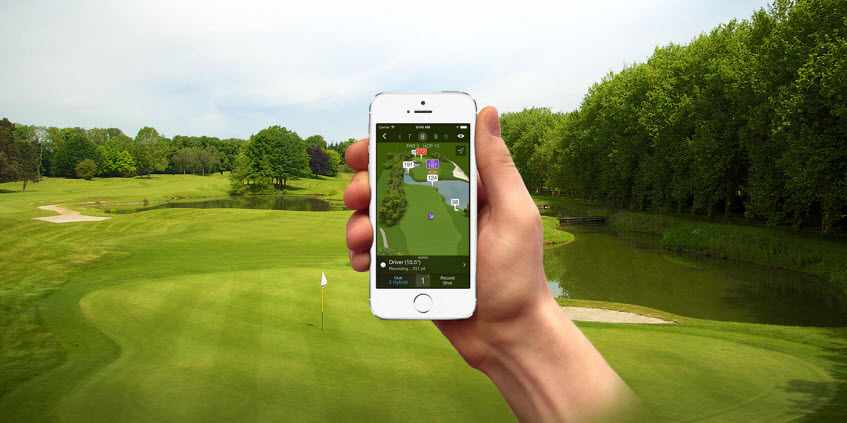 Smartphone Golf Apps, image: golf.clickon.co