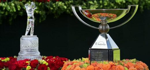 TOUR Championship and FedEx Cup Trophies, image: georgiaacquarium.com
