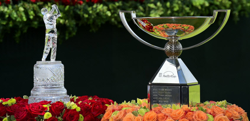 TOUR Championship and FedEx Cup Trophies, image: georgiaacquarium.com