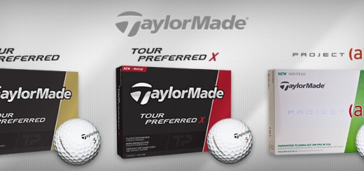 New TaylorMade Golf Balls for 2016: Tour Preferred, Tour Preferred X & Project (a)