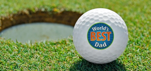 Personalized Golf Balls for Father's Day