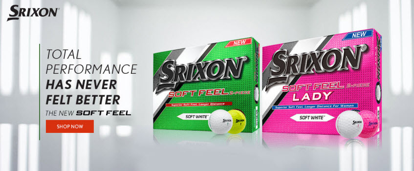 New Srixon Soft Feel Golf Balls for 2017