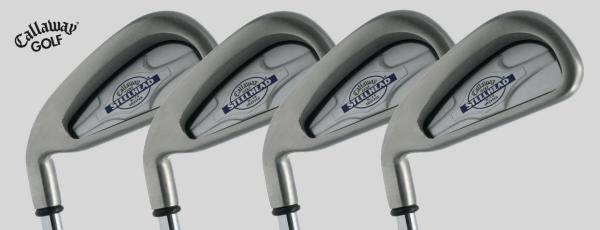 Callaway Golf Steelhead X-14 Irons, Circa 2000