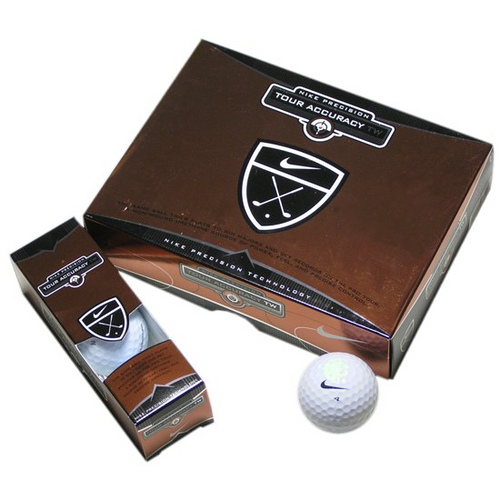 Tiger Woods' Nike Tour Accuracy Golf Ball, image: golfwrx.com