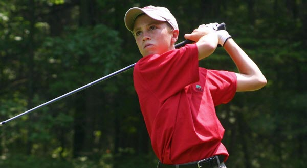 Justin Thomas as a Junior Golfer, image: pgatour.com
