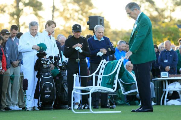2017 Masters Opening Ceremony Honoring Arnold Palmer, image: golfweek.com