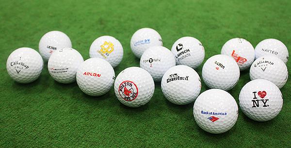 Logo Overrun Golf Balls, image: golfballs.com