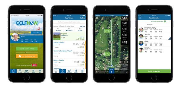 GolfNow App, image: golfnow.com