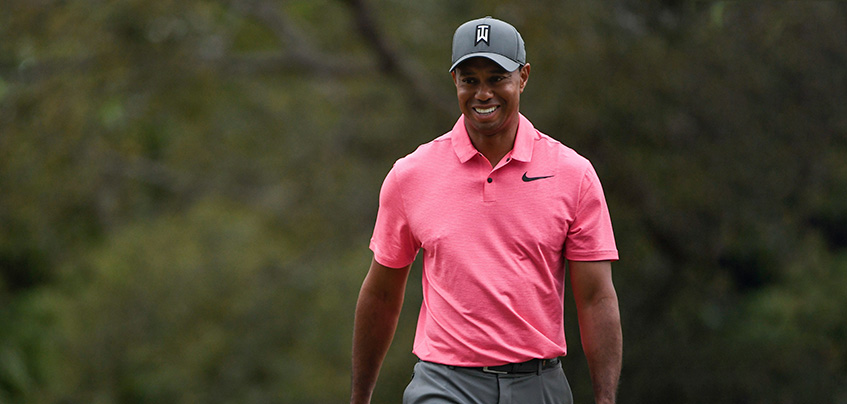 Tiger Woods at the 2018 Valspar Championship, image: realgolfnews.com