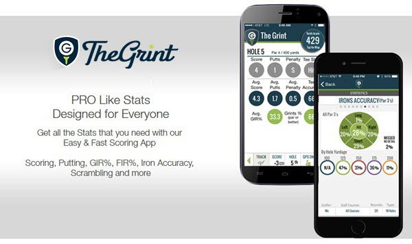 The Grint Golf Score Tracking App