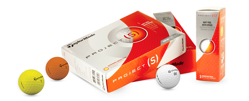 New TaylorMade Project (s) Golf Balls, image: todaysgolfer.com