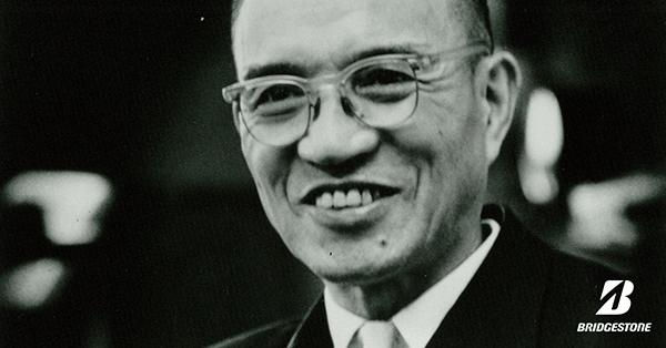 Shojiro Ishibashi, image: facebook.com/Bridgestone.EU