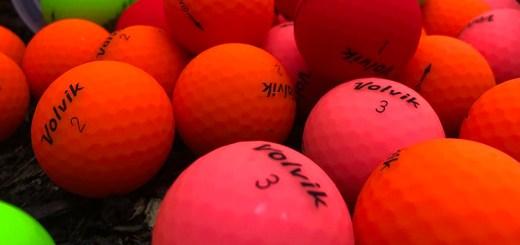 Volvik Vivid Matte Golf Balls, image: twitter.com/volviklpga