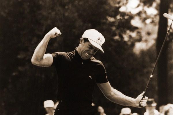Gary Players Winning the 1965 U.S. Open with Fiberglass Wondershaft, image: europeantour.com