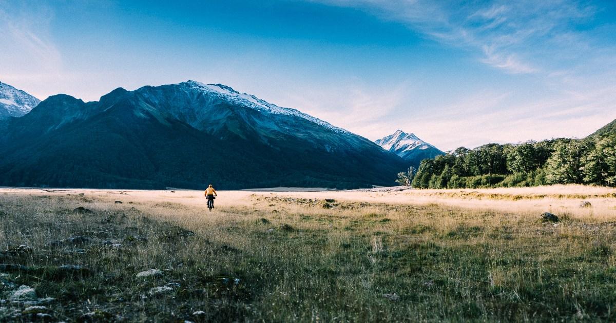 Hopkins Valley fatbiking, New Zealand