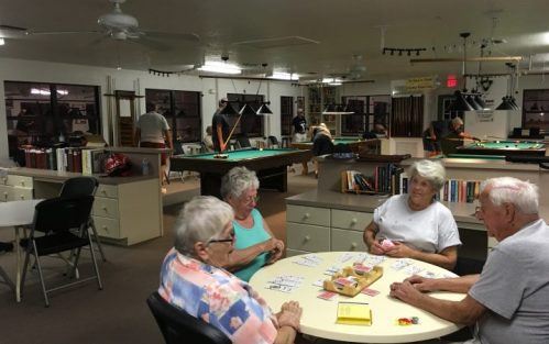Craig's RV Park - playing cards