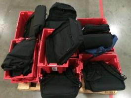 Newgistics GORUCK bins