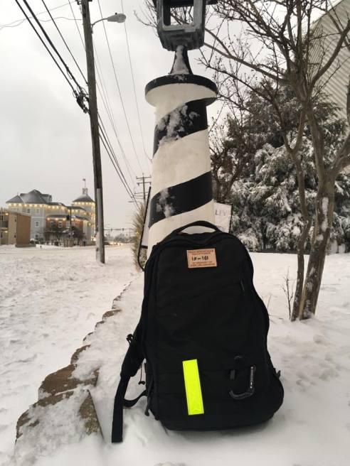 Joshua took this rucking in Norfolk VA during snowmegeddon 2017.