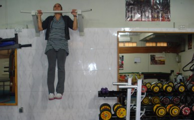 basement gym Kabul