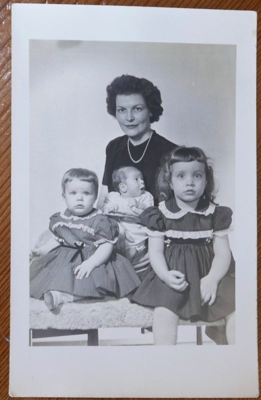 Family passport photo (1953)