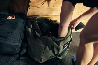 Pack mobility aids like bands or foam rollers