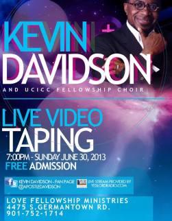 Kevin Davidson Video Taping