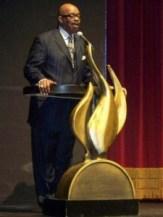 Al The Bishop Hobbs Presides over the Radio Awards
