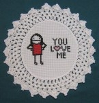 Subversive Cross Stitch Valentines