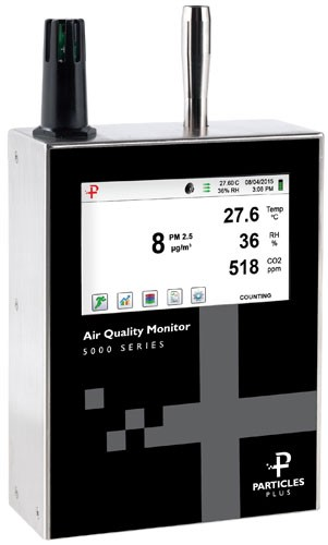 New: Particles Plus Cleanroom Particle Counters and Air Quality Monitors