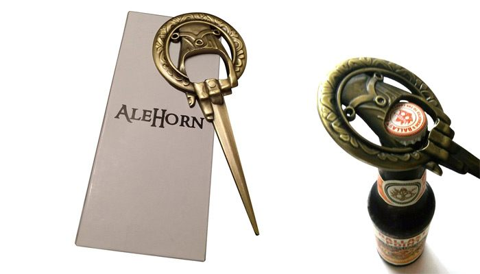 game of thrones gifts for him hand of the king bottle opener