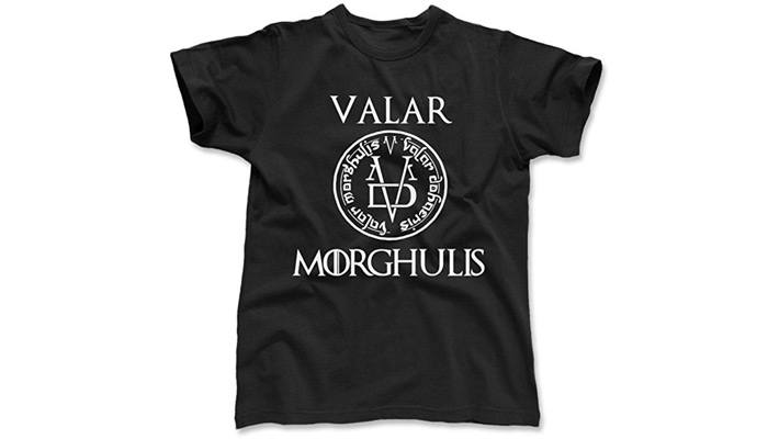 game of thrones gifts for him valar morghulis t shirt
