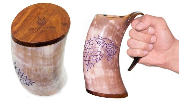 game of thrones gifts for him viking drinking mug