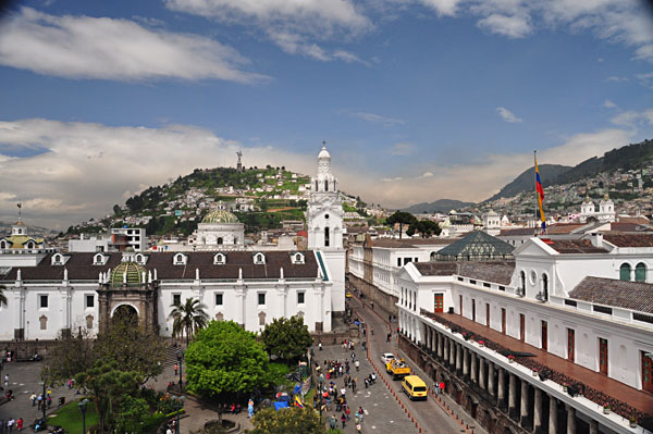 The city of Quito