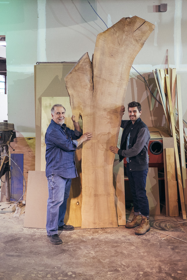 John and Jonathan Grado with Brooklyn Heritage Series
