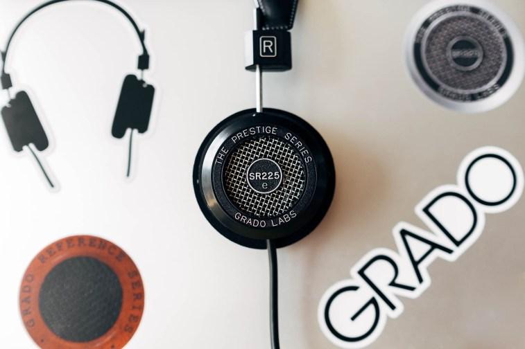 Grado SR225e with Stickers