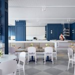 5 Restaurant Interiors That Make Use Of Pantone S Color Of The Year Classic Blue