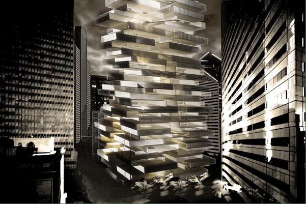 """Skyscraper Village"" Design Reaches Winning Heights with ArchiCAD"