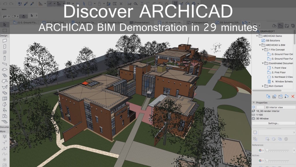 Spend Half an Hour to Discover ARCHICAD