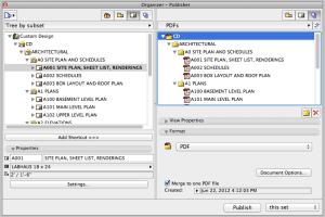ArchiCAD merge to one PDF